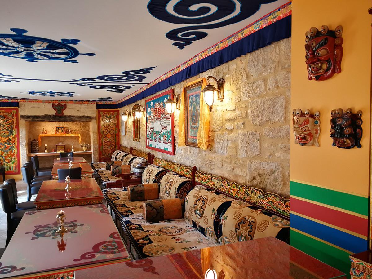 Himalaya en Périgord - Chambres d'Hôtes - café Tibétain Boutique Tursac
